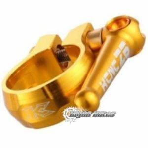 Abraçadeira KCNC 31.8 Dourada