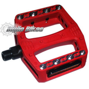 Pedal Wellgo Plataforma Vermelho