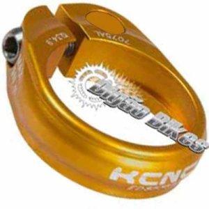 Abraçadeira KCNC 34.9 Dourada Parafuso