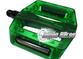 Pedal Wellgo Nylon Verde