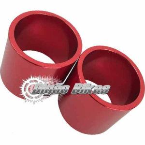 Espaçador em Alumínio 30 mm Vermelho