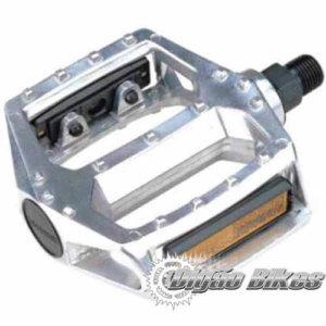 Pedal Plataforma Femin Alumínio Prata