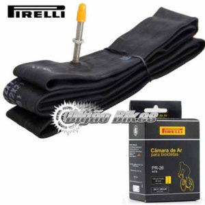 Camara 26 Pirelli Válvula Presta