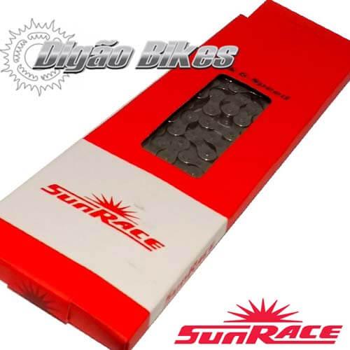 Corrente Sun Race CNM54 116 Elos 6-7 Velocidades