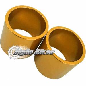 Espaçador em Alumínio 30 mm Dourado